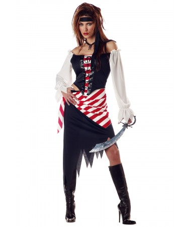 Ruby Pirate Beauty ADULT HIRE