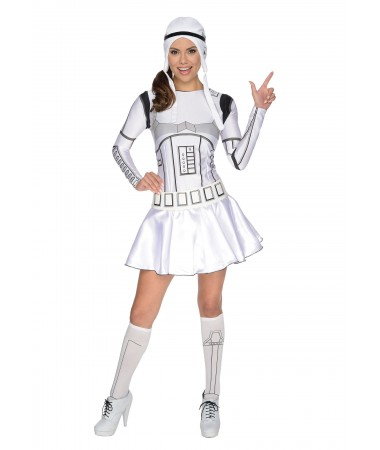 Stormtrooper Girl ADULT HIRE