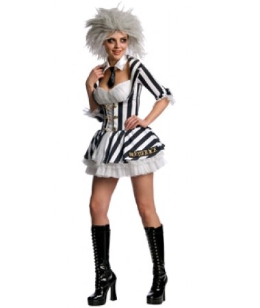 Beetlejuice Girl ADULT HIRE