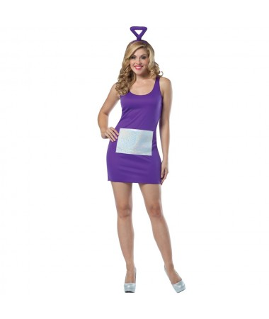 Tinky Winky Dress ADULT HIRE