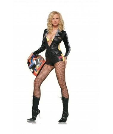 Speed Demon Race Girl