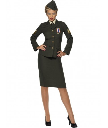 Wartime Officer ADULT HIRE