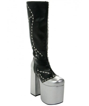Kiss Starchild Destroyer Boots ADULT HIRE