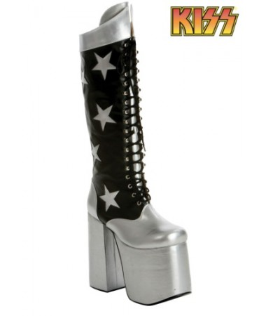 Kiss Starchild Boots ADULT HIRE