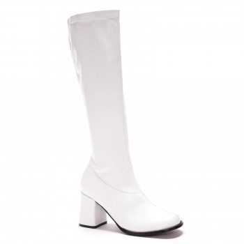 Go Go Boots White Size 7 #1 HIRE