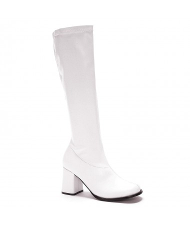 Go Go Boots White Size 10 #1 HIRE