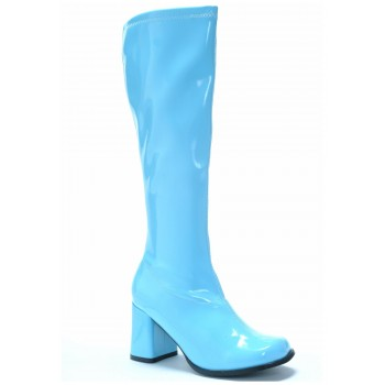 Go Go Boots Blue Size 8 HIRE