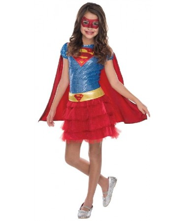 Supergirl Sequin Kids