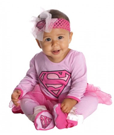 Supergirl Pink Baby