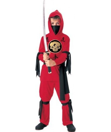 Red Ninja KIDS HIRE
