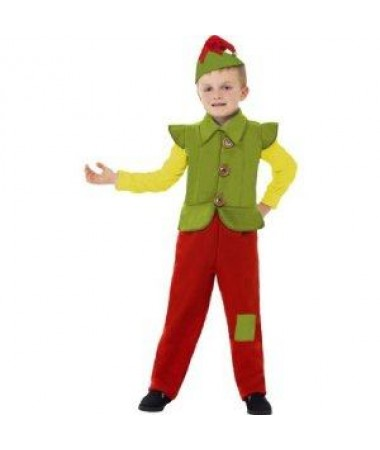 Green Tunic Elf Large #2 KIDS HIRE