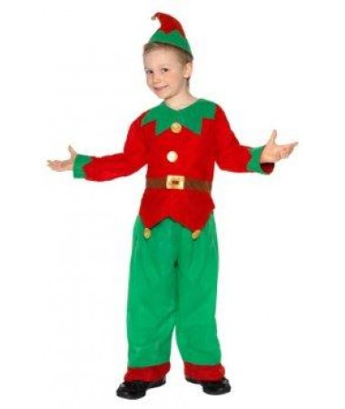 Red Tunic Elf Medium KIDS HIRE