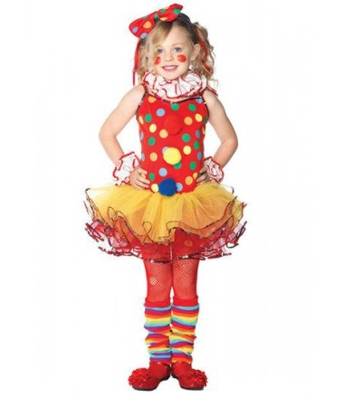 Circus Clown Girl KIDS HIRE