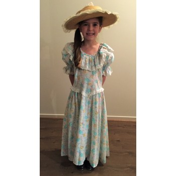 Floral Colonial Girl #2 KIDS HIRE
