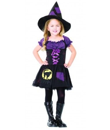 Black Cat Witch Small KIDS HIRE