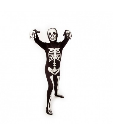 Skeleton Morphsuit KIDS HIRE