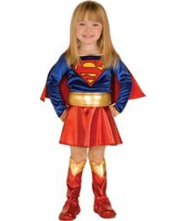 Supergirl Toddler KIDS HIRE