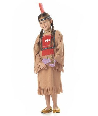 Running Brook Indian Girl KIDS HIRE
